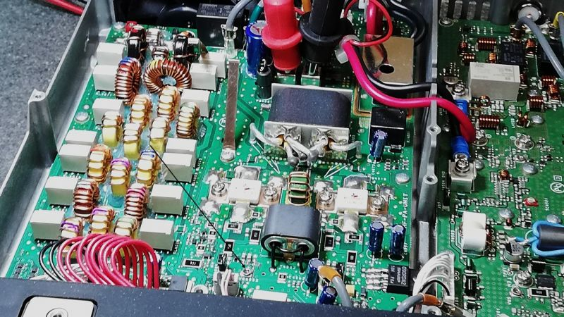 Yaesu FT991 - Chyba upaliłem końcówkę mocy