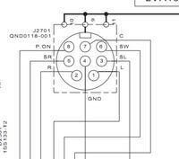 JVC SP-PWA10, Technics SU-X102 - Sygnał ze wzmacniacza na aktywny subwoofer