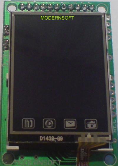 [Sprzedam] Modu�y LCD TFT 128x160 z PIC18F25K80 + Touch Panel