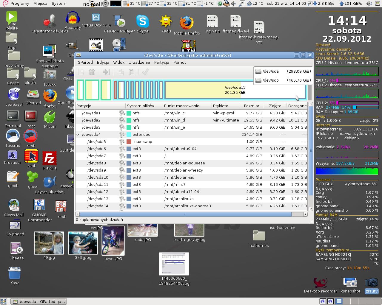 Prze�o�enie starego dysku Samsung SP2504C do nowego komputera
