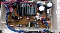 Samsung WF70F5EBP4 - pralka przerywa pranie, problem z obrotem silnika
