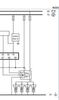 Citroen Berlingo 2.0 HDI - Brak zasilania modułu przekaźnika świec żarowych