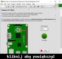 Jak pisać programy w LabVIEW na Raspberry Pi 2