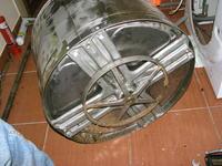 Indesit Wise 107 PL V padły łożyska w bębnie
