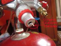 Kompresor z agregatu lod�wkowego - nie dzia�a zaw�r regulacji ci�nienia