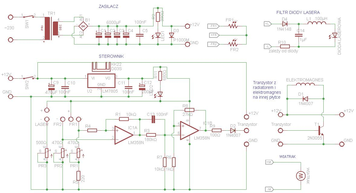 [Schemat i wzory] - Lewitron magnetyczny, problem z wyliczeniem elektromagnesu.
