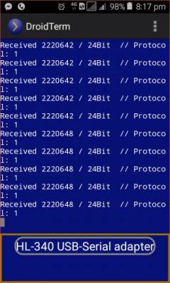 Prosty sniffer na pasmo 433 MHz
