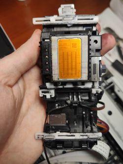 Brother DCP-165C - Papier zatrzymuje się przed głowicą, błąd zacięcia papieru