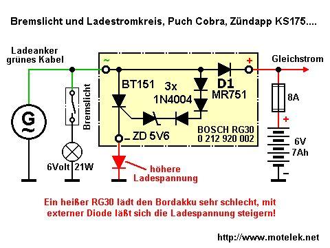 Regulator napięcia 12V - dobór diody zenera