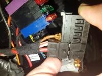 Mercedes W220 S320 - Prawy moduł SAM, nie odpala, blokuje kluczyk
