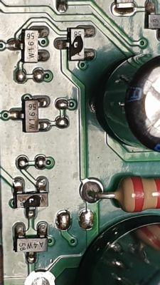 Napęd bramy Nice Noovo ts432/ OGA0/SHEL schemat płytki