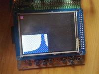 stm32 ILI9320 - Okre�lenie wsp�rz�dnych ekranu