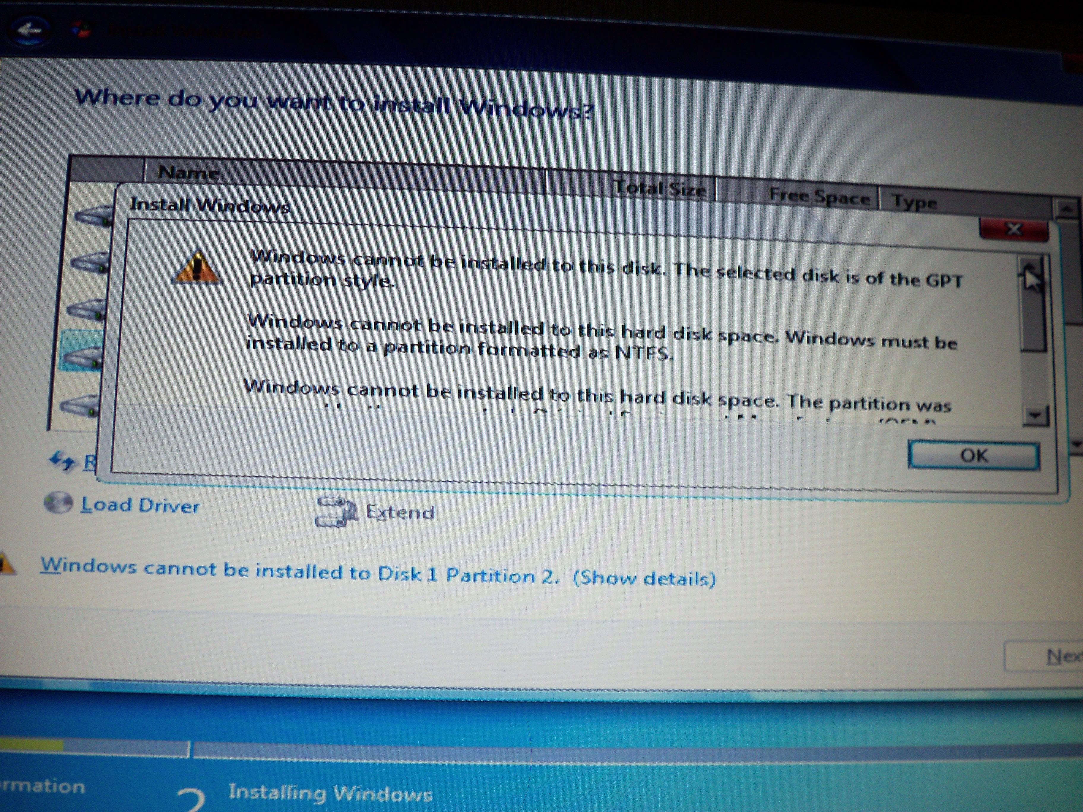 Lenovo U510 - Problem z instalacj� win 7