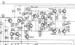 Wzmacniacz Yamaha CA-V2 - napięcie stałe na wyjściu końcówek