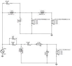 Kolumny 2.5D na Peerless SDS-P830656 i ALX od STX - obudowa zamknięta