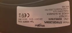 Pralka Whirlpool EFW81283BPL- stukanie przy średnich obrotach.