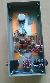Booster oparty o TS9 do dopalania kana�u przesterowanego wzmacniacza lampowego