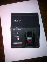 AEG PBA 7224 MB - nie �aduje baterii