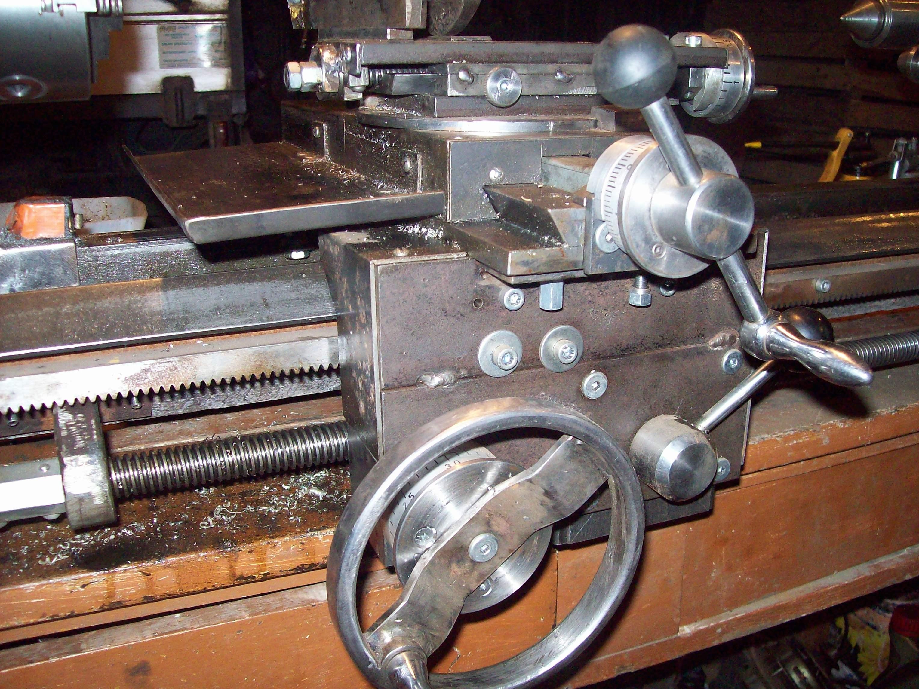 Zaktualizowano Tokarka stołowa do metalu DIY - elektroda.pl PO48