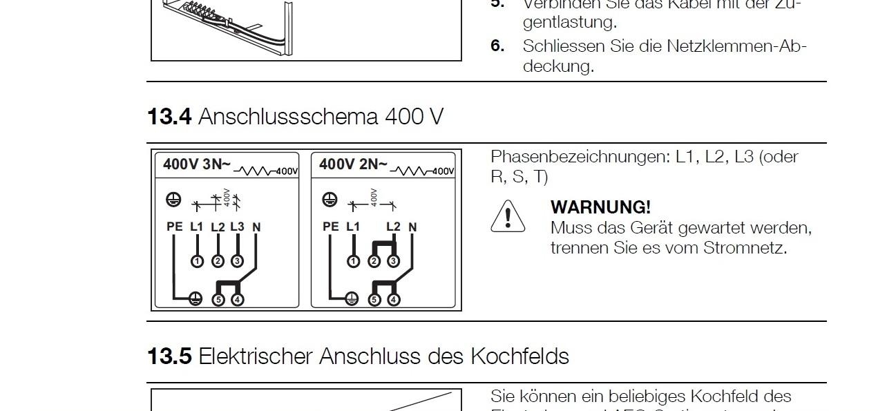Kuchnia Indukcyjna Electrolux Eki6451aox Podłączenie Do