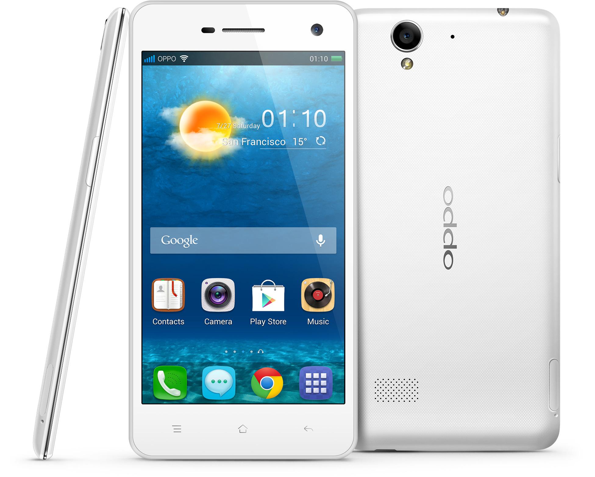 "Oppo R819 - smartphone z 4,7"" ekranem, Android 4.2 i Dual SIM"