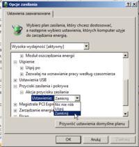 Płyta ASUS P8P67 - wyłaczanie komputera po wymianie karty graficznej