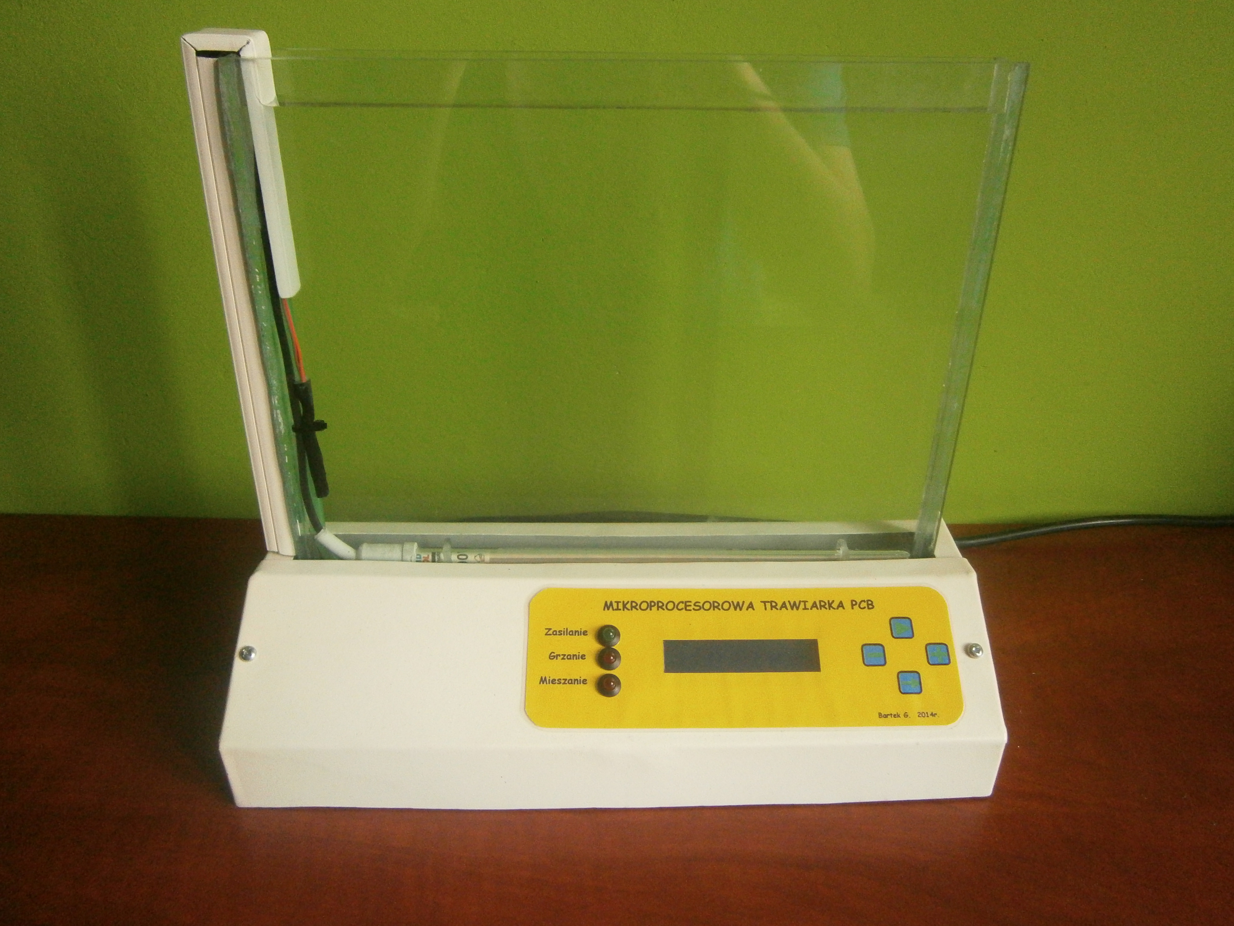 Mikroprocesorowa Trawiarka PCB