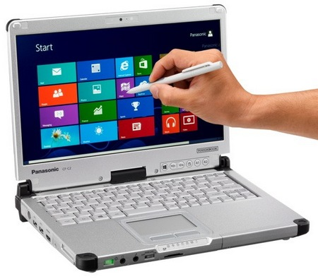 Panasonic Toughbook CF-C2 Tablet typu Semi-rugged z Windows 8
