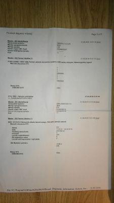 VW PASSAT B6 - Błąd 810 Czujnik 1/2 Ciśnienia Ham EPC / ESP / Check Engine / P