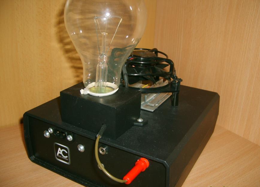 Noworoczna lampa plazmowa