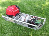 Hybrydowy system zasilania robotów terenowych