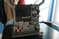 projektor 16mm i dźwięk z fotokomórki