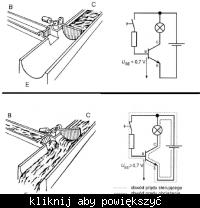 Wzmocnienie prądu przez tranzystor