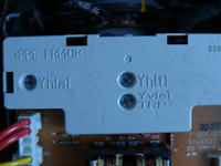 Monitor i luźny kabelek HP P1230