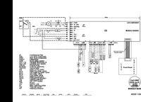 Whirlpool AWG875D schemat podłączenia silnika z modułem