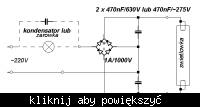 Przykłady podłączenia świetlówek