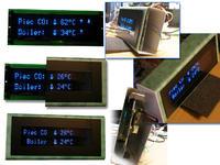 Kontoler C.O. /termometr dwupunktowy/ VFD na pilota