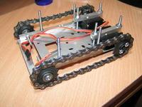 T102-Zdalnie sterowany pojazd gąsienicowy (Robo-platforma)
