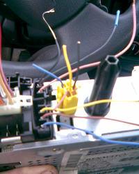 Podłączenie wyświetlacza w megane-radio Philips 22DC461/62