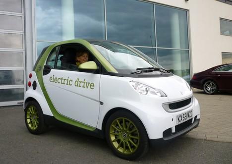 Elektryczny Smart w sprzedaży pod koniec czerwca