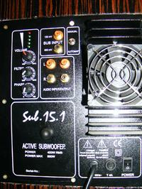 Sub aktywny STX 32-300-8 SC + PA 15.1