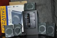 Podłączenie głośników Creative inspire P5800 z Panasonic AS650