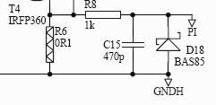 Projekt przetwornicy 230AC->+/-75V 1000W