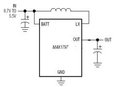 Zasilanie LED na przetwornicy MAX1797.