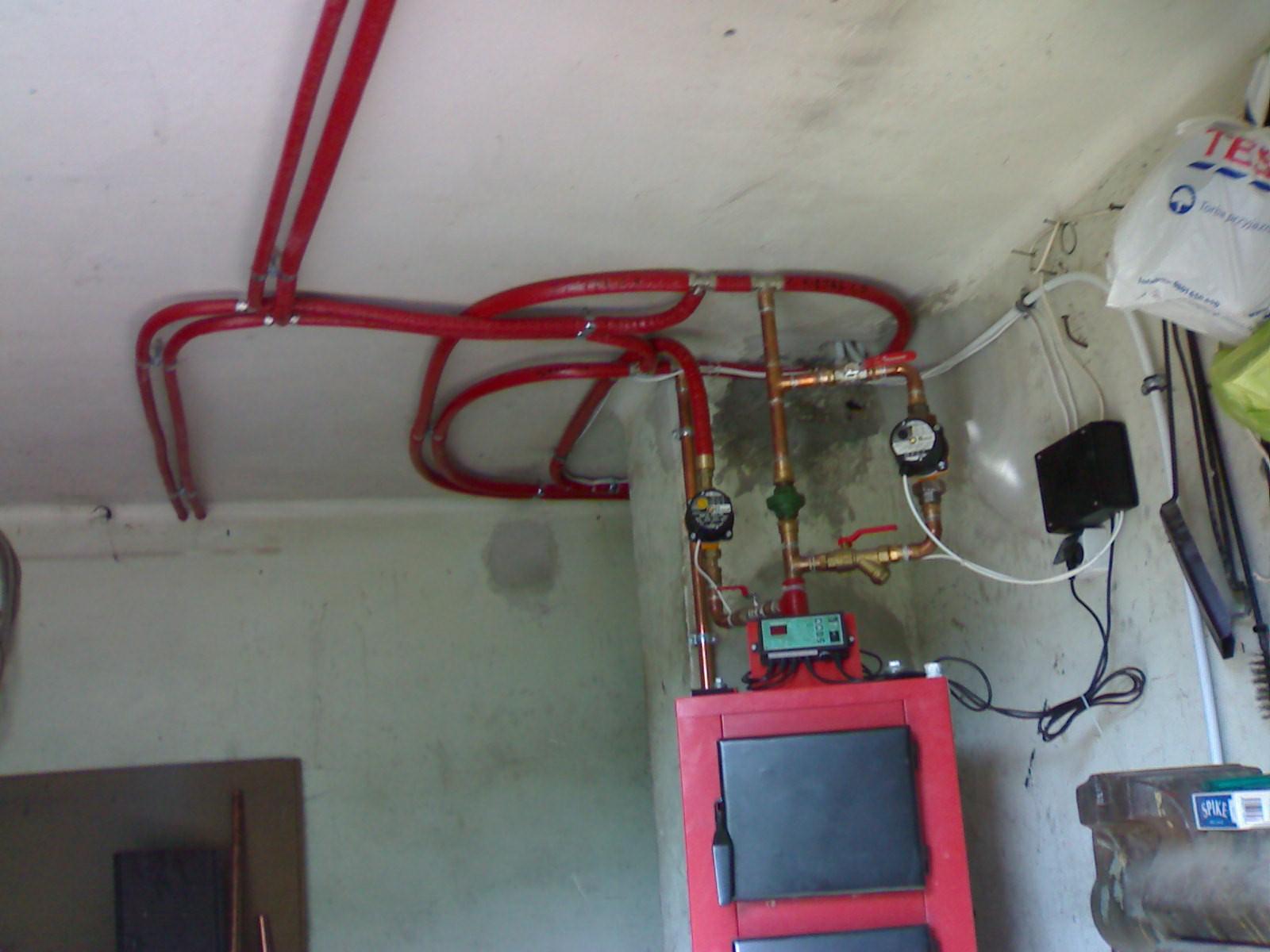 Poważnie Podłączenie bojlera do istniejącej instalacji CO - elektroda.pl RL52