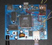 Linux media server (AT91RM9200)