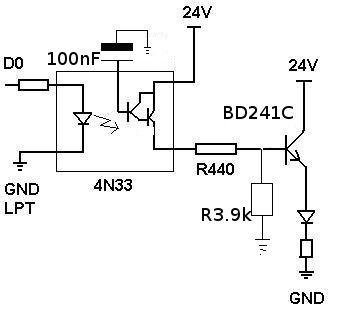 LPT optoizolacja z diody LED - na początek