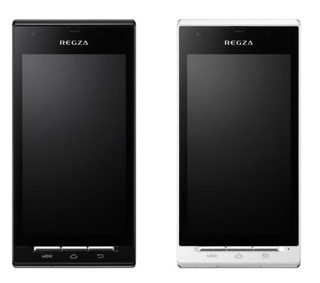 KDDI au REGZA IS04 pierwszy telefon Android z aparatem 12mpx