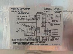 """Panasonic NR-BN34FW1-E - Nie chłodzi części """"lodówkowej"""""""