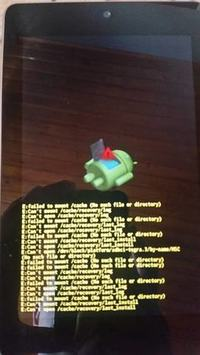 Asus Nexus 7 - ME370TG - Zawiesza się na napisie google